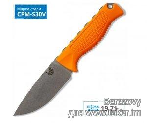 Обзор ножа Benchmade Steep Country - фиксед с CPM-S30V. Охотничий, но не туристический